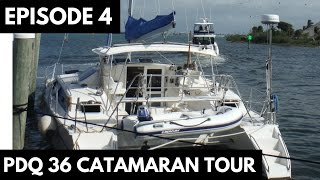 Family Sailing Vlog - Episode 4: PDQ 36 Catamaran Tour