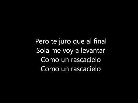 Rascacielo  Demi Lovato Spanish Version of Skyscraper Lyrics