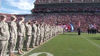 OU Military Appreciation Day 2013 - Pre-Game Activities
