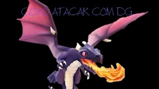 Clash of Clans: COMO ATACAR COM DG NO CV 7