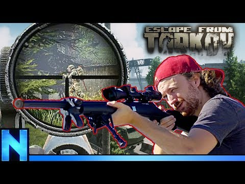 Mosin Sniper Saves His Friend's Life - Escape from Tarkov