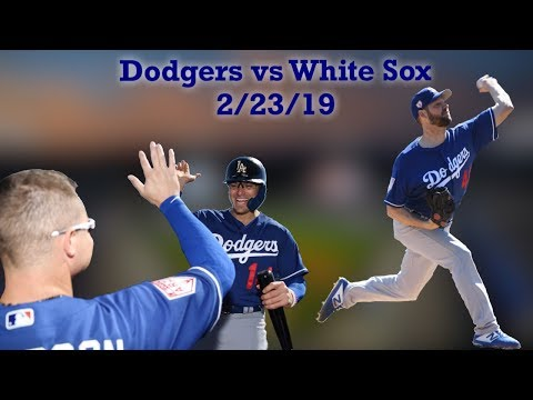 Dodgers Beat White Sox In Their First Spring Training Game Of 2019