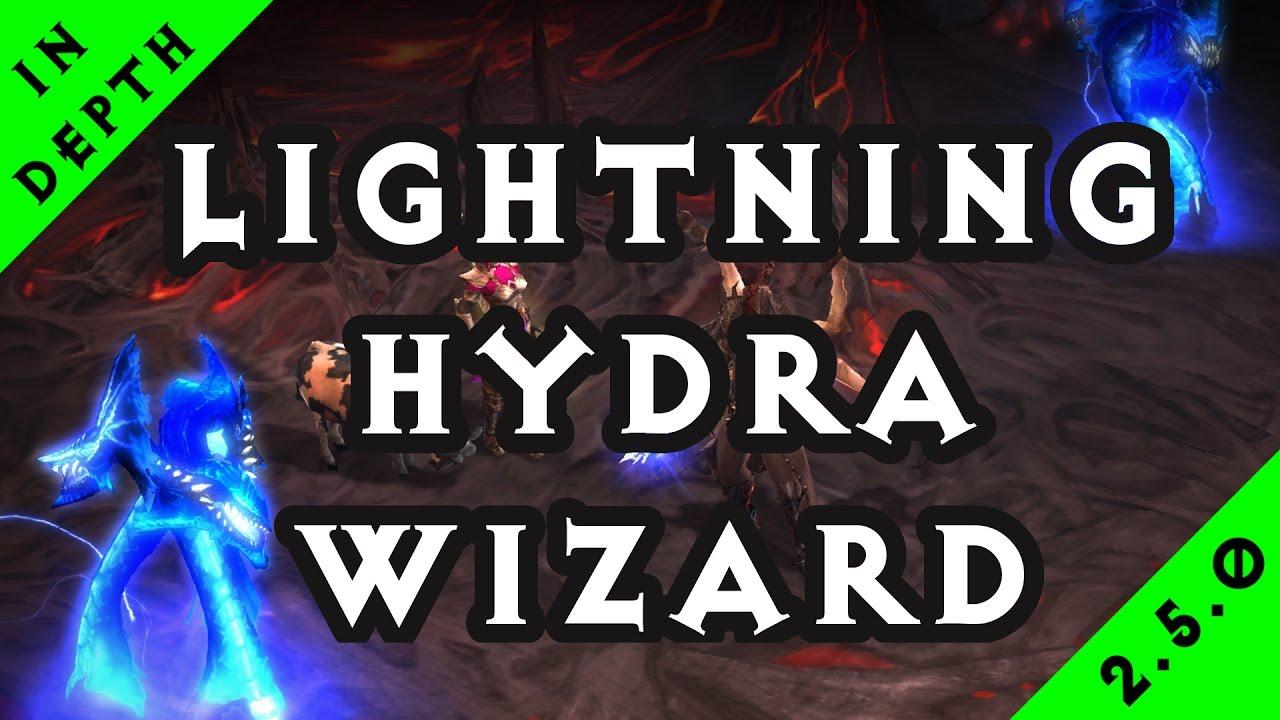 Wizard Lightning Build Hydra
