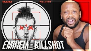 KILLSHOT [Official Audio] [MGK Diss] REACTION!!!