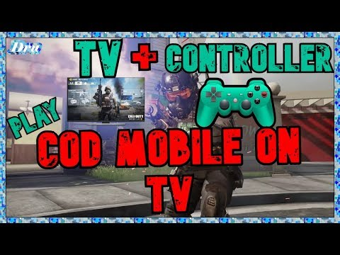 COD Mobile PS4 Controller Android Setup To TV / Controller Support Not Working [Call Of Duty Mobile]