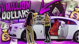 Download I SURPRISED A GOLD DIGGER WITH $1 MILLION DOLLARS AND THIS HAPPENED!! Mp3 and Videos