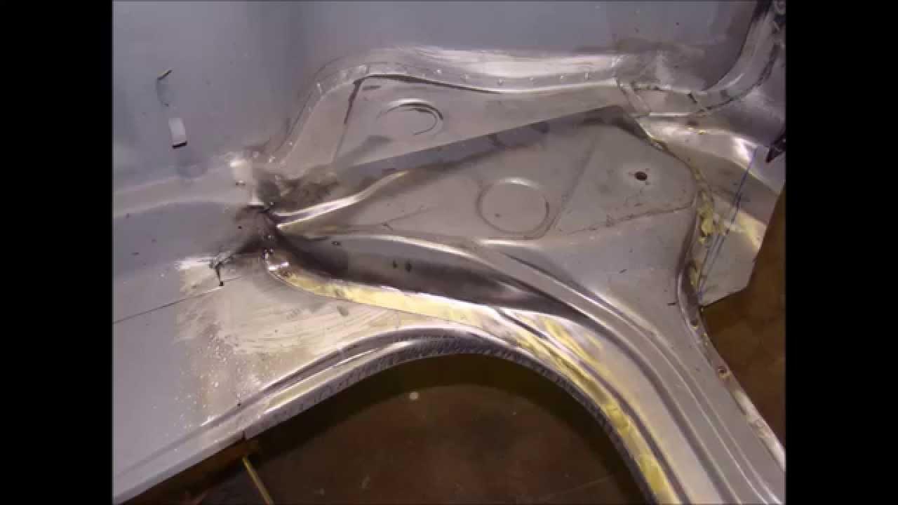Porsche 911 Front Apron And Suspension Pan Repair Rust