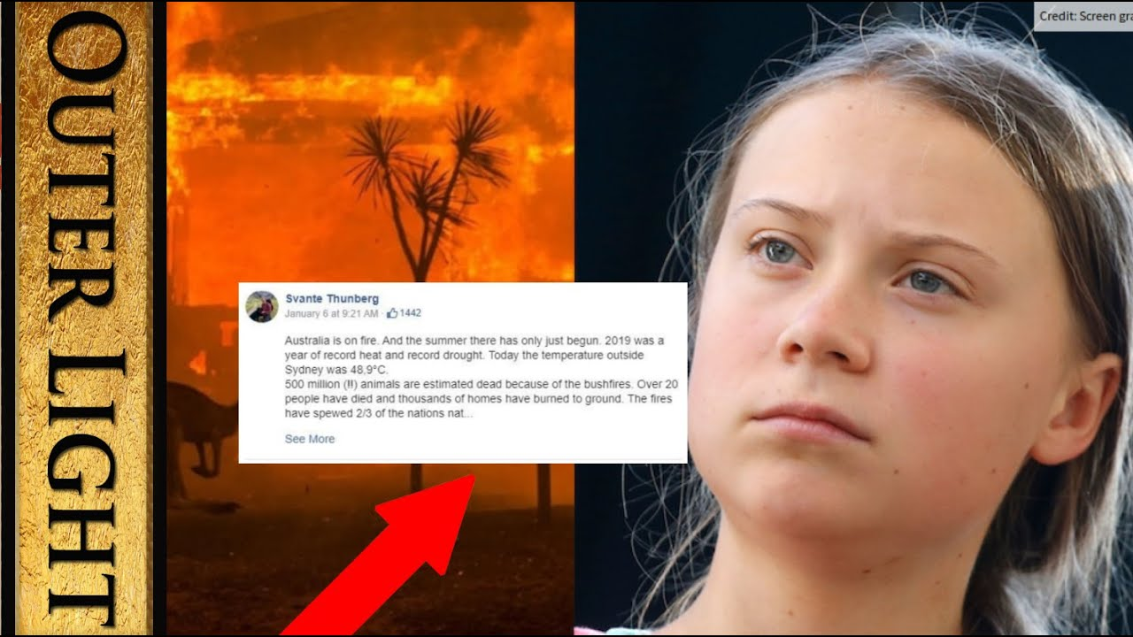 Something strange about Greta Thunberg's Facebook account - The Outer Light