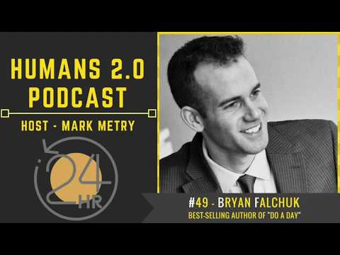 #49 - Bryan Falchuk   How to Live a Better Life Everyday with Self-Love and Struggle