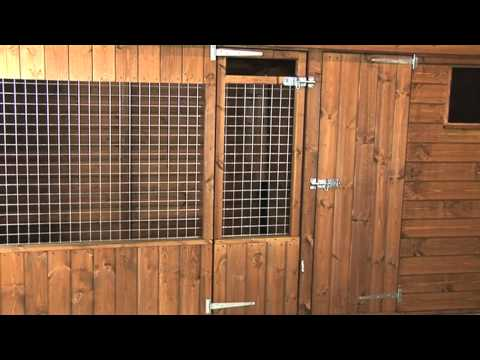 Chappell Dog Kennel And Run System From Timberbuild