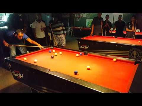 Blackball pool Yulan Govender. ...finishers