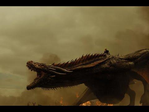 Game of Thrones~Every dragon scene~Seasons 1-8