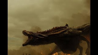 Game of Thrones~Every dragon scene~Seasons 1-8