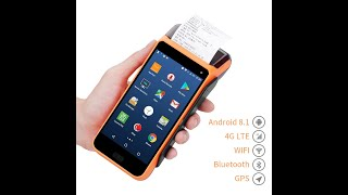 Issyzonepos ipda046 android-based rugged handheld terminal ic/nfc/msr payment