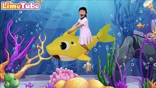 Baby Shark | Kids Songs and Nursery Rhymes |Animal Songs with Lime ToysReview