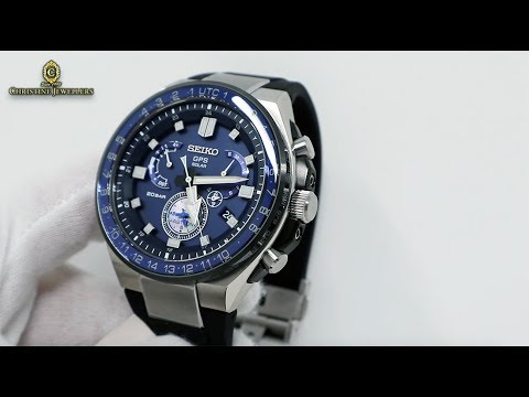 Astron Dual Time Unboxing Sse167j1 Seiko Sports Line Solar Gps Executive Ybgy7f6