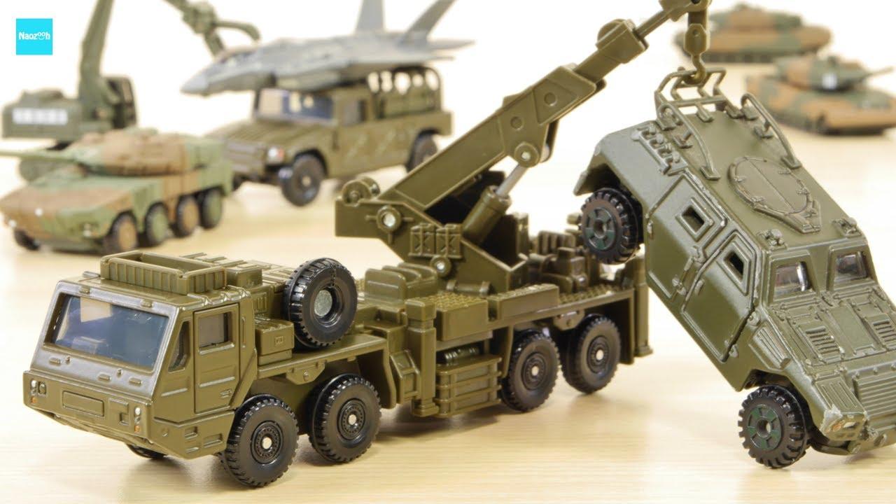 ロングの迫力!! 重装輪回収車 新作 ロングトミカ 軽装甲機動車 F35A ...