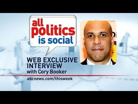 'This Week' Web Extra: Cory Booker Answers Viewer Questions From Facebook,  Twitter