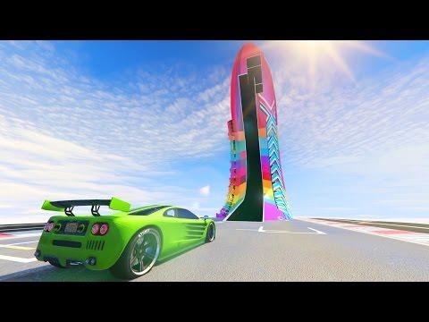 SUPER RAMPA RARA!!! - CARRERA GTA V ONLINE - GTA 5 ONLINE
