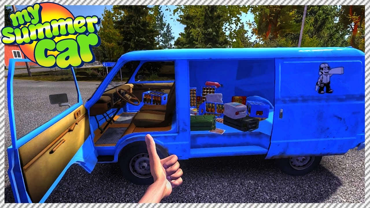 My Summer Car Good News Every One I Made It Back Home Ep 3 Funny