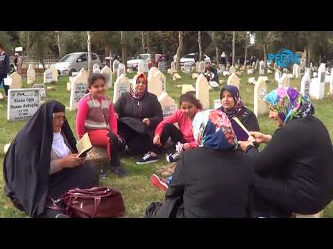 Regaip Kandilinde Mezarlıklar Ziyaret Edildi