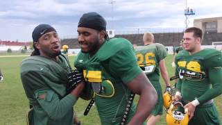 2013 NDSU Football Fall Camp: Marcus Williams Day in the Life