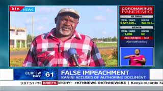 False impeachment: National assembly clerk dismisses document making rounds online as fictitious
