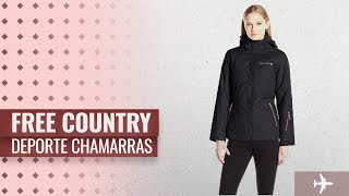 Deporte Chamarras 2018, Los 10 Mejores Free Country Productos: Free Country Women's System Jacket