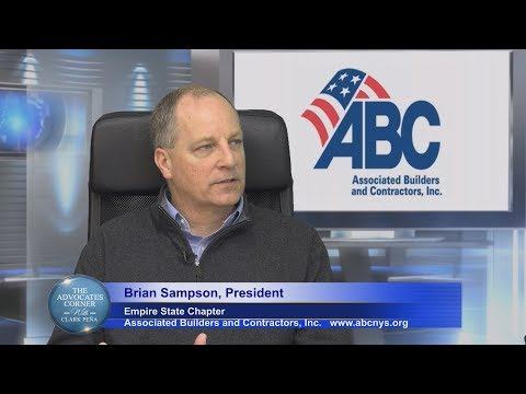 The Advocates Corner with Clark Pena with guest Brian Sampson Empire State President, ABC