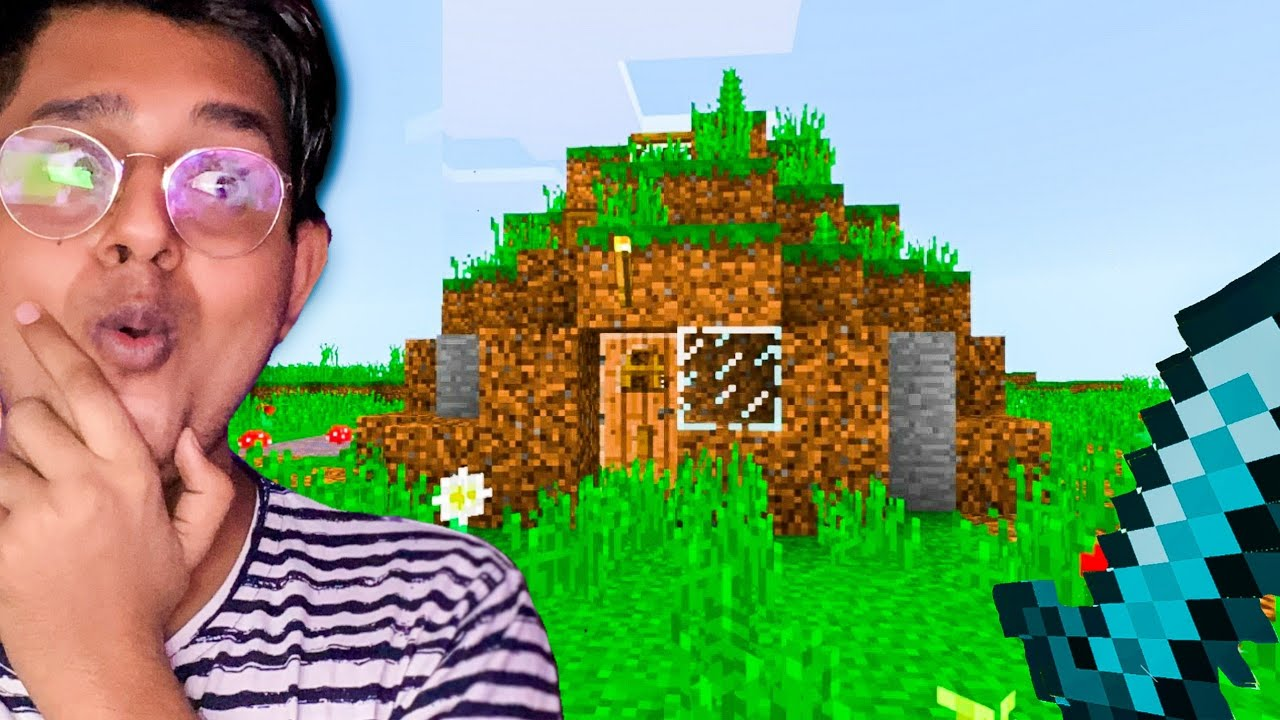 Visiting my 10 YEAR OLD MINECRAFT HOUSE !!