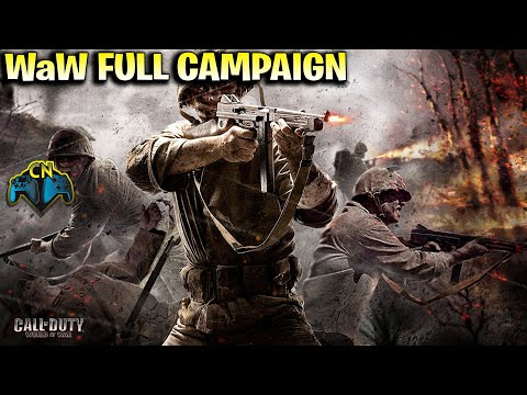 Call of Duty World At War Xbox One Full Campaign WaW Backwards Compatible