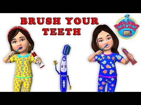 Brush Your Teeth Song Lyrics | Brushing Song | Top Nursery Rhymes for Children & Kids Songs