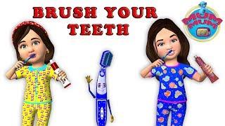 Brush Your Teeth Song Lyrics | Brushing Song | Top Nursery Rhymes For Children & Kids Songs