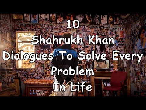 10 Shahrukh Khan Dialogues to solve every problem in Life-including Raees Dialogues