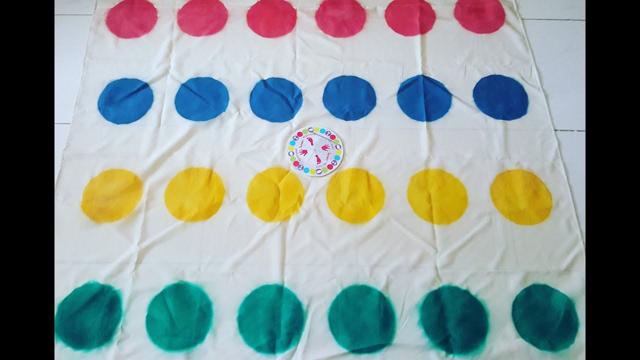 Diy Twister Mat Game Youtube