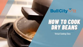 HOW TO COOK DRY BEANS | Slow Cooker Recipe by Bull City Fit