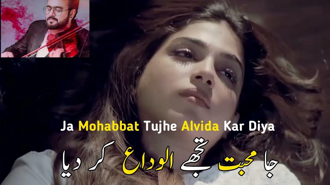 Download Mohabbat Tujhe Alvida OST   Full Song   Sahir Ali Bagga   Afshan Fawad   HUM
