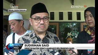 Sudirman Said Yakin Prabowo-Sandi Menang di Jawa Tengah