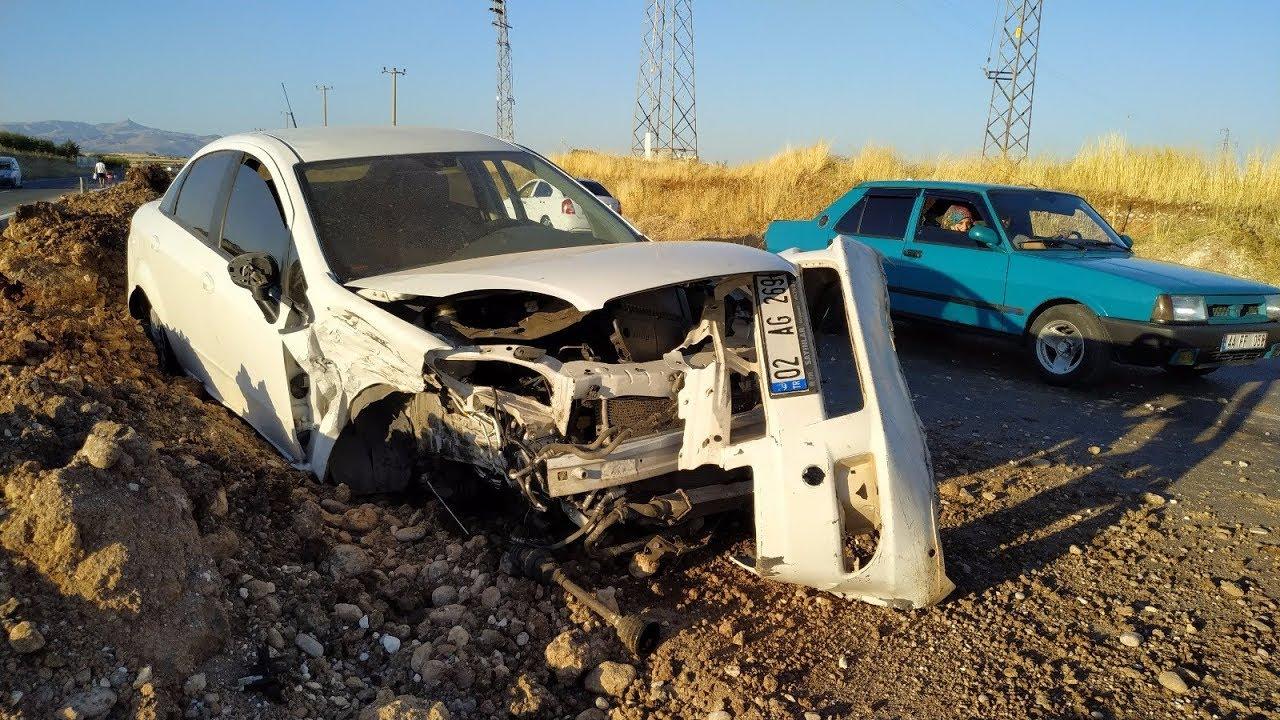 Kahta'da 3 Ayrı Kazada 11 Kişi Yaralandı