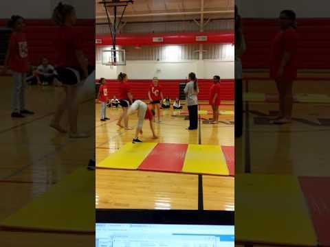Girls dance Moulton Middle School
