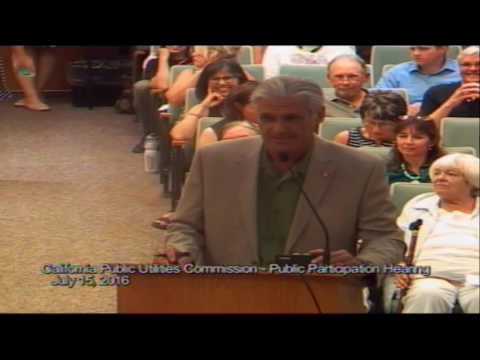 California Public Utilities Commission Public Participation Hearing