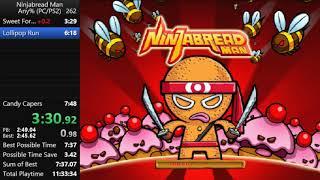 Ninjabread Man PC in 7:37.04
