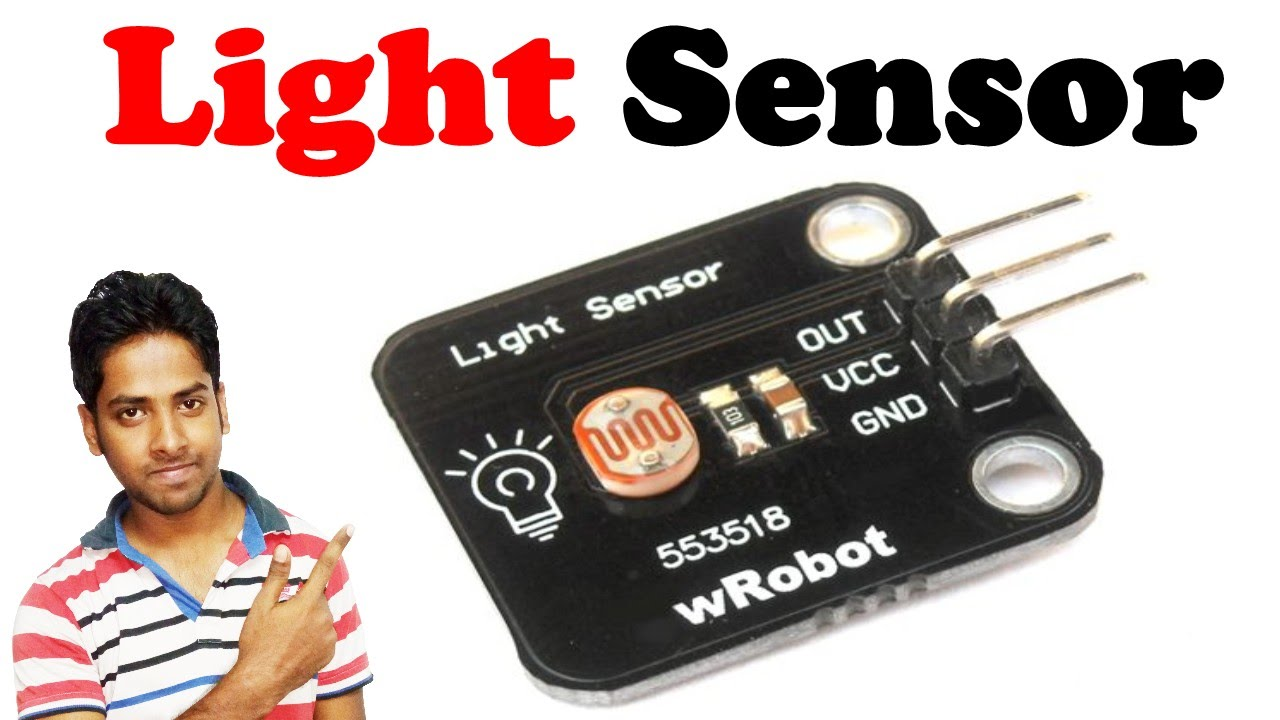 Good Ambient Light Sensor || Explain With Details In Hindi   YouTube