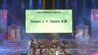 JKT48 3rd Anniversary Concert Team Battle JKT48 Team KIII - RIVER