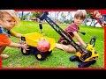RC CRANE TRUCK FOR CHILDREN UNBOXING! (Axel Show Construction Trucks)