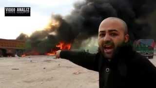 Новости! ВКС РФ нанесли удары по очередному конвою из бензовозов ИГИЛ. Сирия.