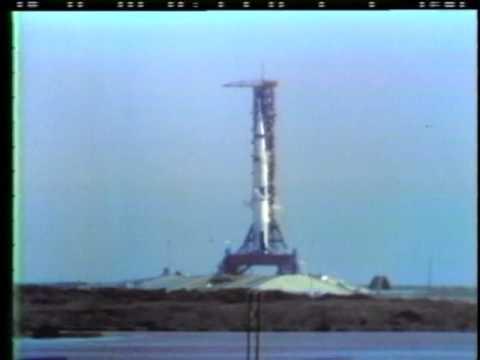 1969 Apollo 11 Saturn V launch, 1969 TV broadcast