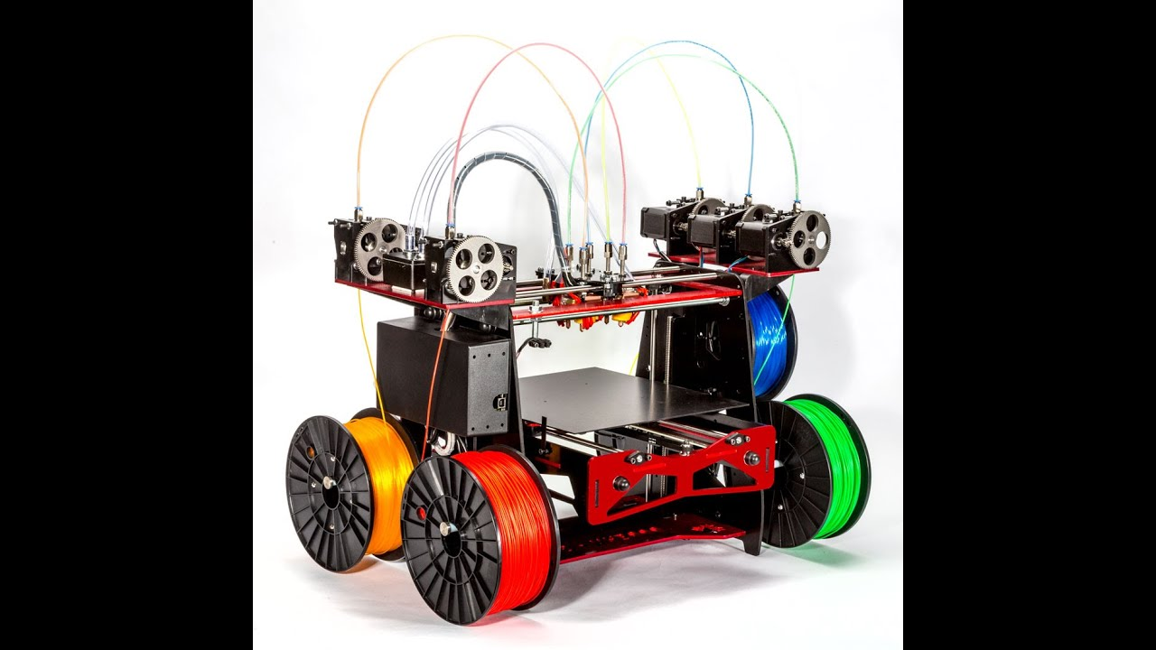Rova3d The First 5 Material Color Liquid Cooled 3d