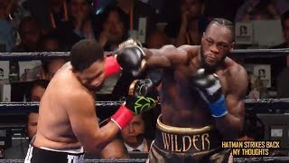 DEONTAY WILDER: ONE PUNCH KO!!! DOMINIC BREAZEALE FLATTENED IN 1ST!!! POST FIGHT REVIEW (NO FOOTAGE)
