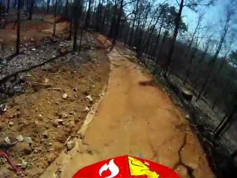 Blue(intermediate) Mountain Bike Jump Trail @Coldwater Mountain: 402Trails Construction Project